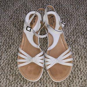 Clark's Artisan wedge sandals